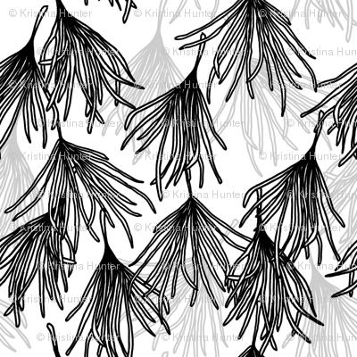 Botanical Frond Large Scale