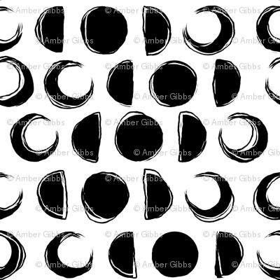 Jumbo Sketchy Moons