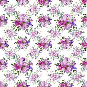 Lita Floral White Purple