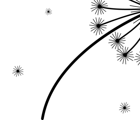 Make a wish fabric by rowdy1 on Spoonflower - custom fabric