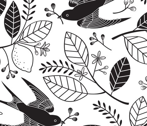 Rblack-and-white-swallows-large-halfdrop_shop_preview