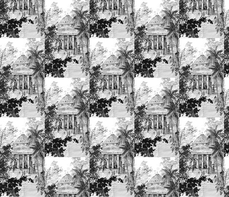 museum fabric by easelsy on Spoonflower - custom fabric