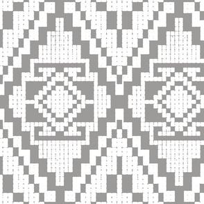 Modern native medium gray