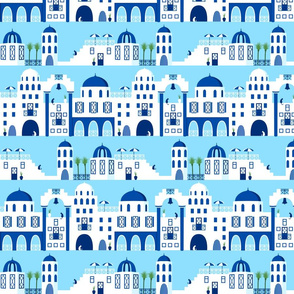 Greek Islands blue medium