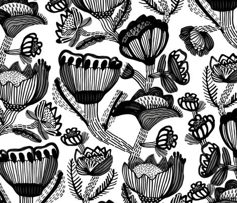 Botanica fabric by kirstenkatz on Spoonflower - custom fabric