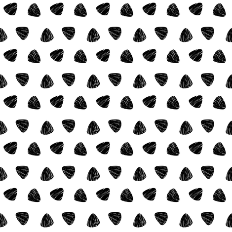 Triangle Dots fabric by lillelor on Spoonflower - custom fabric