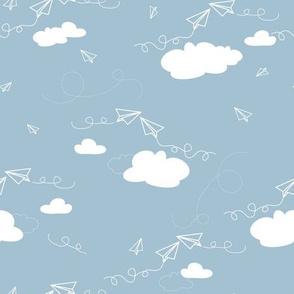 Paper Airplanes - Cloud