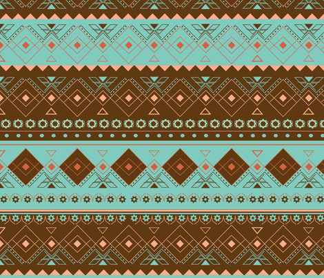 kodaline-Brown-01 fabric by tella_creations on Spoonflower - custom fabric