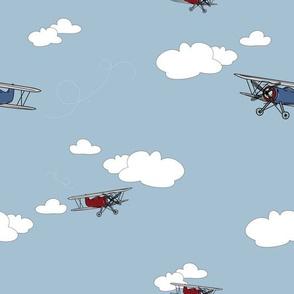 Vintage Plane - Cloud