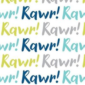 rawr on white
