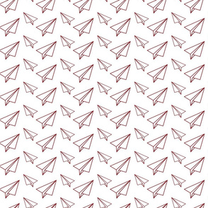 Paper Planes white Red-01
