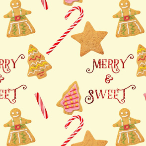 Merry and Bright Holiday Cookies and Candy