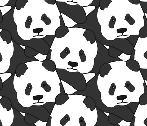 Pandamonium fabric by kjthoon on Spoonflower - custom fabric