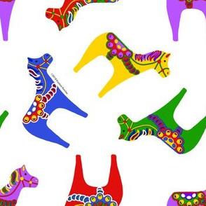 Scandinavian Dala Horses