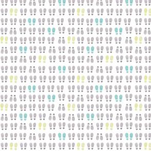 boot print in lines_12inch_original