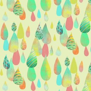Colourful drops