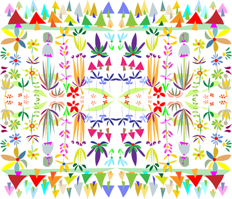 SCANDINAVIAN LANDSCAPE fabric by soobloo on Spoonflower - custom fabric