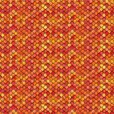 (micro scale) dragon scales -fire C18BS fabric by littlearrowdesign on Spoonflower - custom fabric