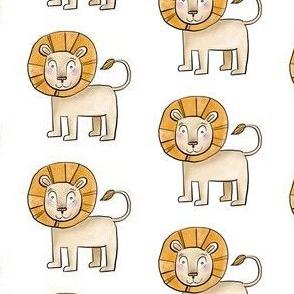 Kind Little Lion - Smaller Size