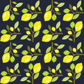 Garden Lemon Pattern