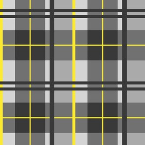 Tartan Plaid (with bright yellow)