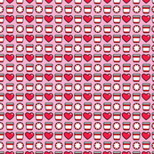 aloha red cup washi on pink