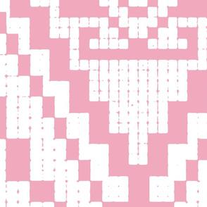Modern native big pink