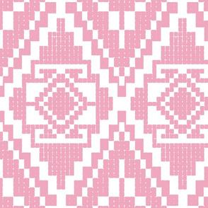 Modern native invert pink