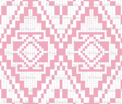 Modern native pink