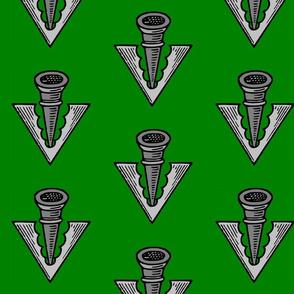 pheon on green