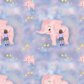 Pink elephant dream