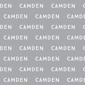 camden // on gray