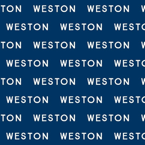 weston // on navy
