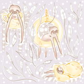 Sloth's comfort _cutebugbubbles