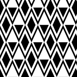 Chevron Twist 2 - Monochrome