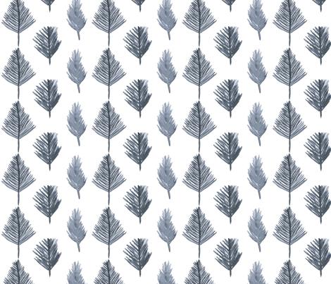 treesWhiteSourceV1 fabric by mesh_and_cloth on Spoonflower - custom fabric