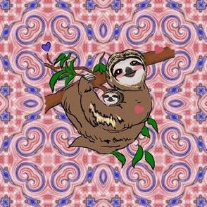 Sloth Motherly Love