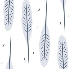 Winter tree pattern