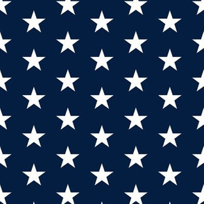 stars on navy C18BS