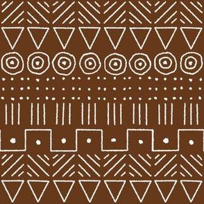 mudcloth 1 brown