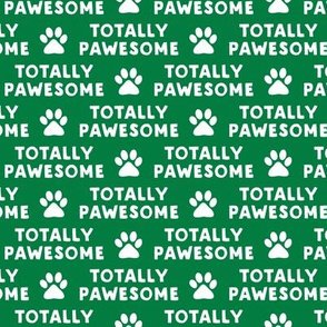 totally pawesome - green