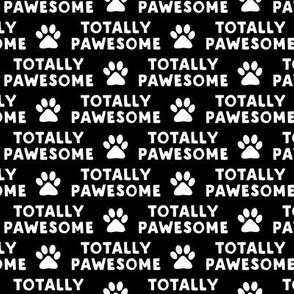 totally pawesome - black