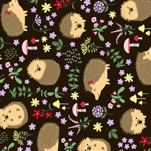 Tea Towel Hedgehogs