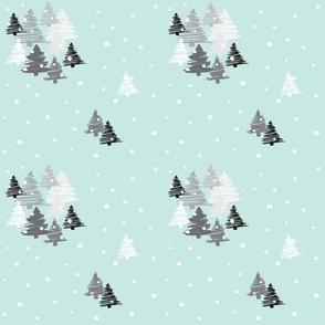 White christmas mint