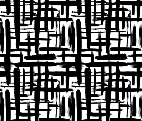 Scandinavian  art fabric by ekaterinap on Spoonflower - custom fabric