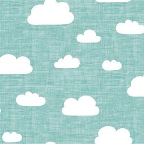 Clouds Mint - Texture