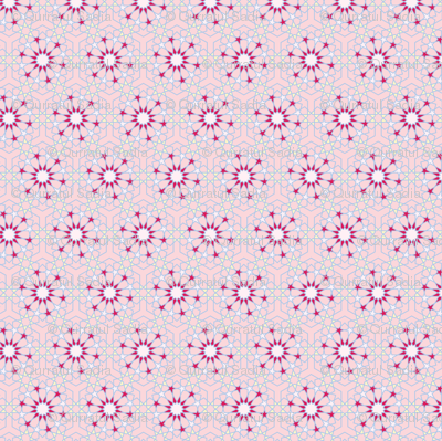 Pink and Yellow Pattern 2