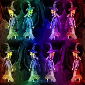 MERLIN WIZARD LABYRINTH CAVES RAINBOW multicolor