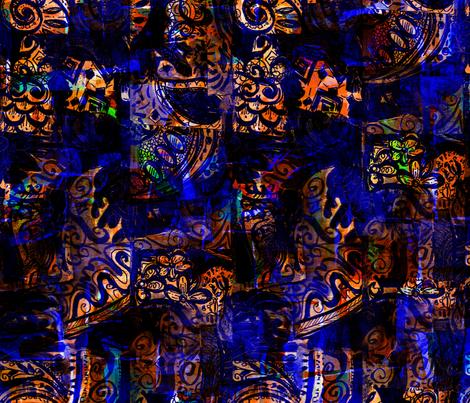 Mystic fabric by gilli_dig on Spoonflower - custom fabric