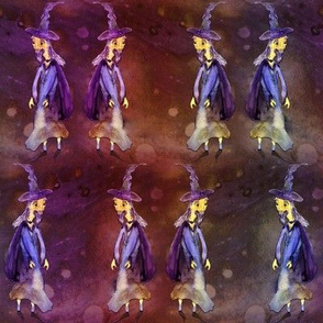 MERLIN WIZARD HALLOWEEN rainbow purple orange PSMGE